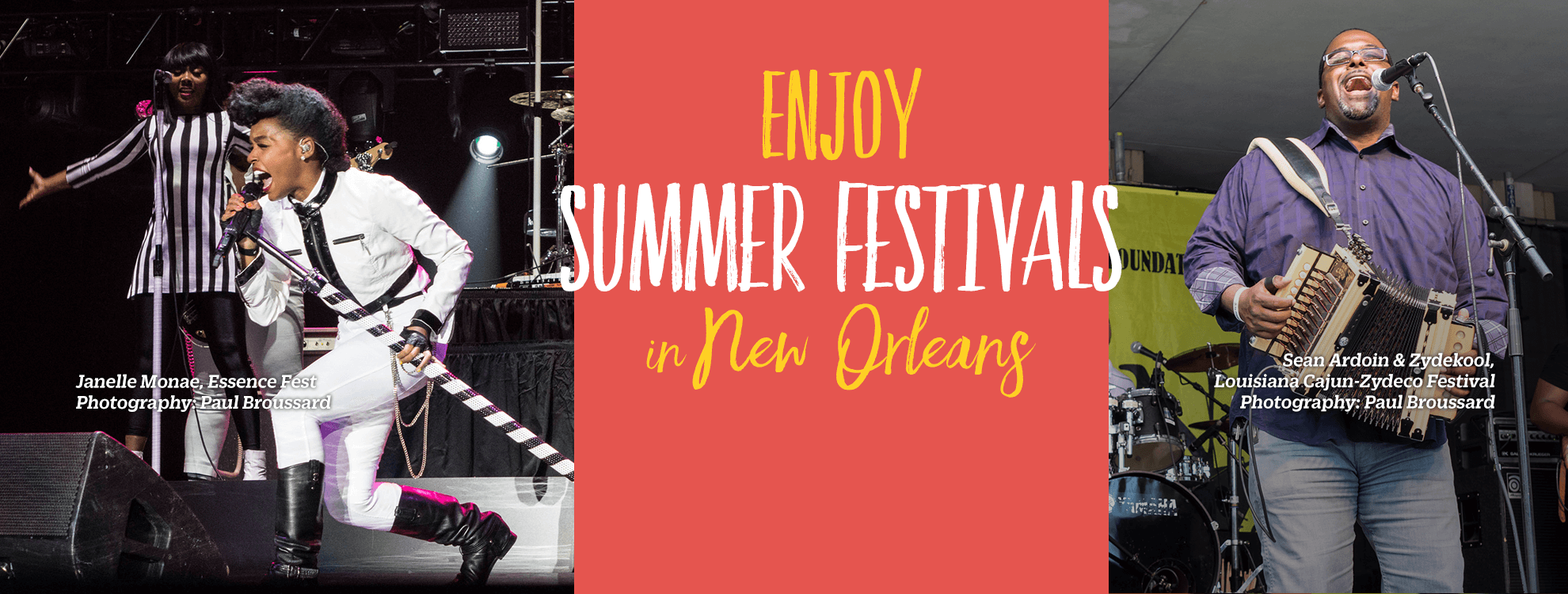 New Orleans summer festivals